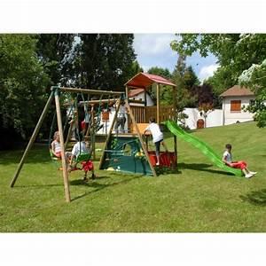 Aire De Jeux Soulet : aire de jeux en bois les bons plans de micromonde ~ Melissatoandfro.com Idées de Décoration