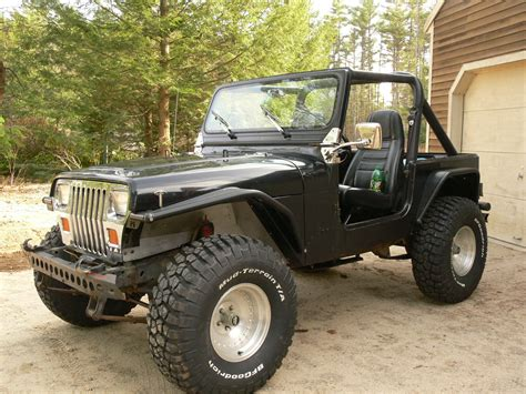 cheap jeep wrangler my cheap jeep my 87 yj mods and upgrades