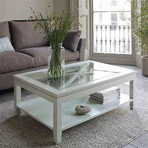 Coffee table surprising coffee table white distressed for White coffee table with brown top