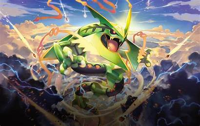 Pokemon Tcg Wallpapers Cards Rayquaza Mega Site