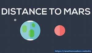 Distance To Mars - How Far Is Mars From Earth - Distance ...