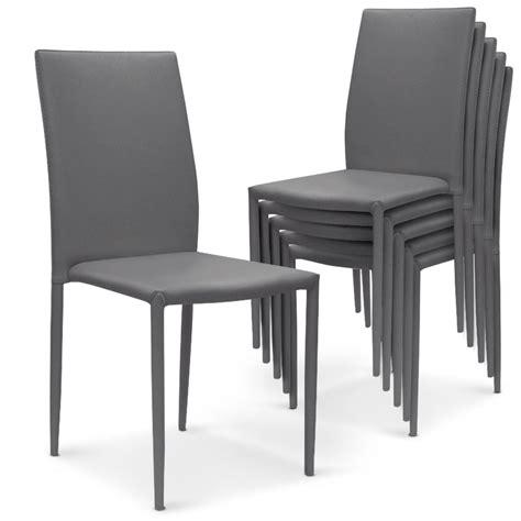 chaise gris clair chaise cuir gris clair le monde de léa