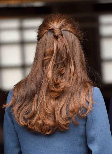 kate middleton steps   grey hair   safe  dye
