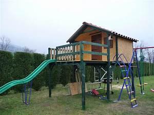 Maison Pour Enfant En Bois : plan de maison sur pilotis 8 plan fabrication cabane ~ Premium-room.com Idées de Décoration