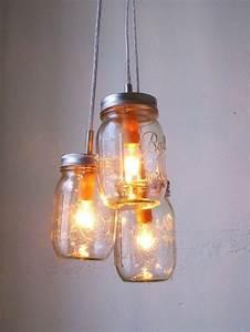 Summer splendor mason jar chandelier hanging pendant light