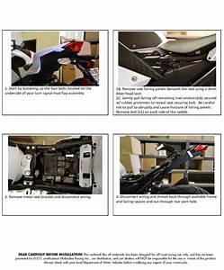 Ninja 300r 2013-15 Undertail Installation