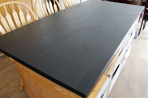 Ideas For Painting Kitchen Cabinets - diy faux soapstone countertop chris loves julia