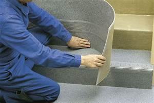 Recouvrir Marche Escalier : poser des marches int grales en pvc mise en oeuvre ~ Premium-room.com Idées de Décoration