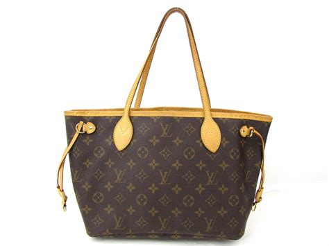 authentic louis vuitton neverfull pm tote bag monogram