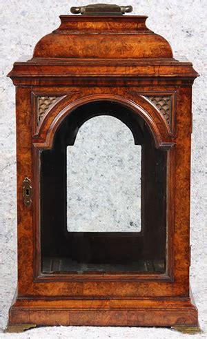 antique walnut bracket clock restoration project scott