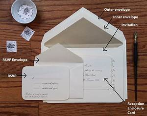 Wedding invitation envelope stuffing order merry brides for Wedding invitations envelope stuffing etiquette