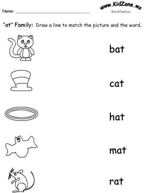 teaching word families language arts preschool phonics