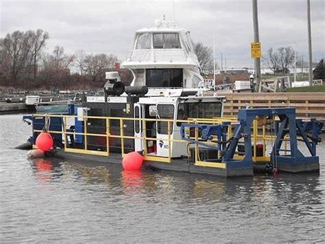Cobourg Boat Launch cobourg canada marina gets maintenance