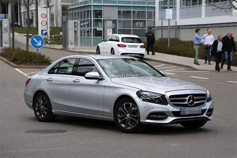 mercedes benz 2017 mercedes benz c class facelift spied in germany