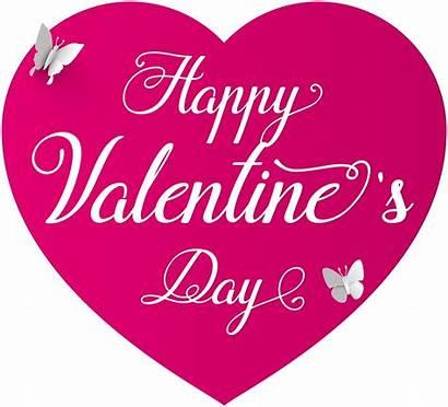 Valentine Valentines Happy Clip Transparent Clipart Heart