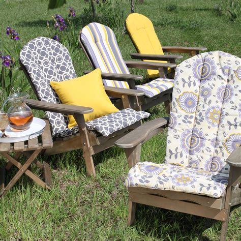 Coral Coast Bella Flora Adirondack Chair Cushion At Hayneedle