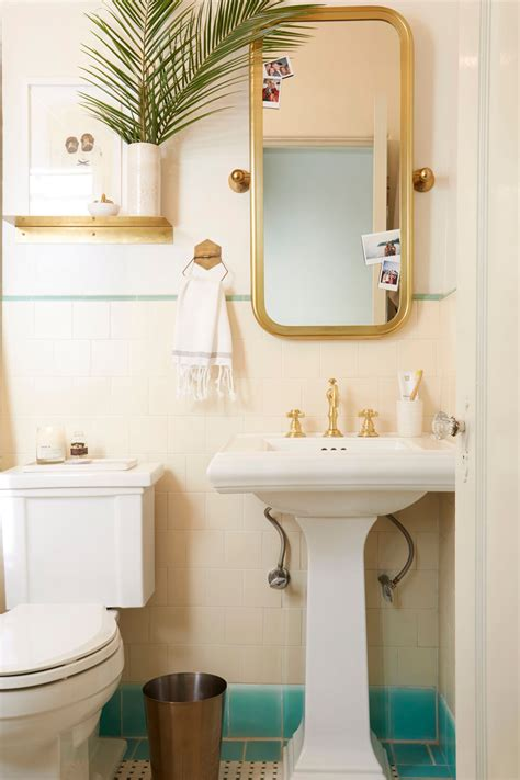 Apartments Accessories by Brady Gives A Refresh To His Vintage Bathroom Emily