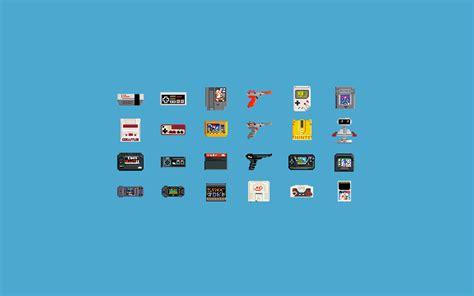 Wallpaper Video Games Pixel Art Text Consoles Circle