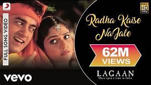 Radha Kaise Na Jale - Lagaan   Aamir Khan   Gracy Singh ...