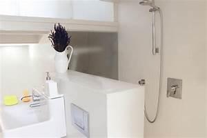 Salle De Bain Petite Surface : salle de bain petite surface 4 comment am233nager un ~ Dailycaller-alerts.com Idées de Décoration