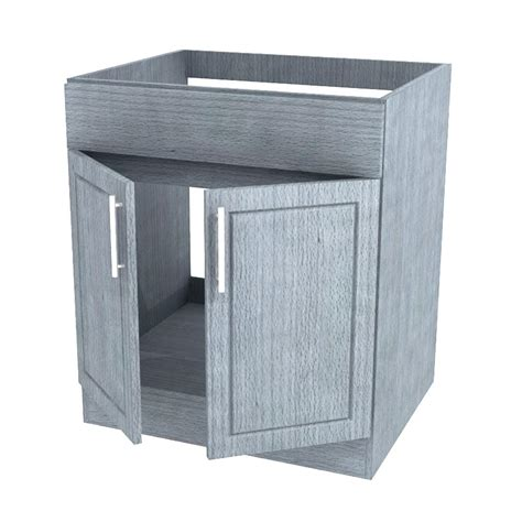 outdoor kitchen sink cabinet weatherstrong assembled 36x34 5x24 in palm beach island