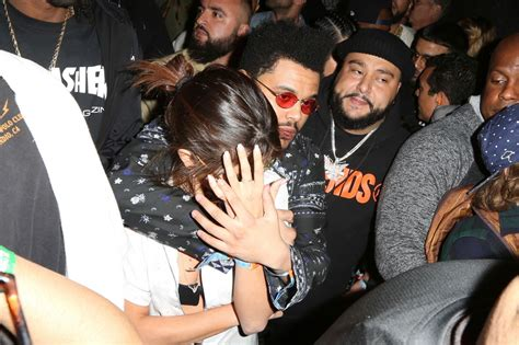 Selena Gomez With The Weeknd at Coachella in Indio 4/14 ...