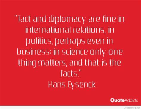 wonderful diplomacy quotes  sayings