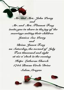 how to make your wedding invitations wording With wedding invitation wording child hosting