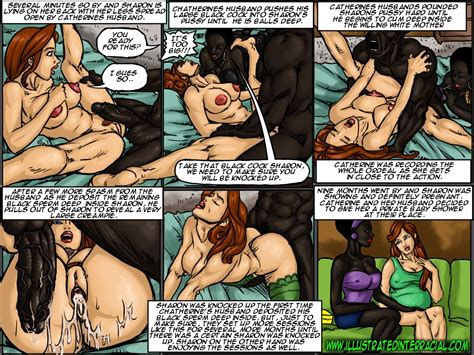 The Surrogate Illustrated Interracial • Porn Comics One