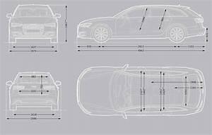 Dimension Audi A4 : audi a4 avant interior dimensions ~ Medecine-chirurgie-esthetiques.com Avis de Voitures
