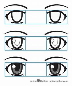 How Draw Anime Eyes