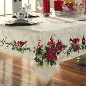 christmas table linens photograph home gt woodland christma