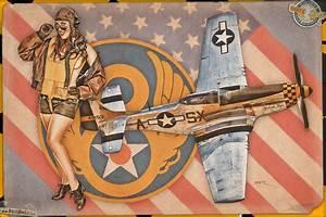 Mustang Pin Up : aviation pinups p 51 mustang by warbirdphotographer on deviantart ~ Maxctalentgroup.com Avis de Voitures