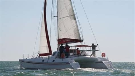 Catamaran Ride Barcelona by Team Building