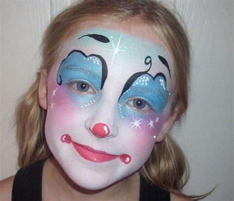 die besten  clown schminken kind ideen auf pinterest