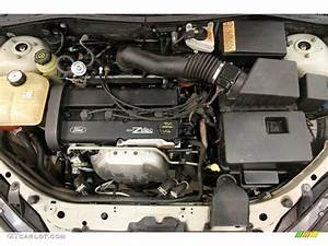 2003 Ford Focus Zx3 Coupe 2 0l Dohc 16v Zetec 4 Cylinder Engine Photo  90350019