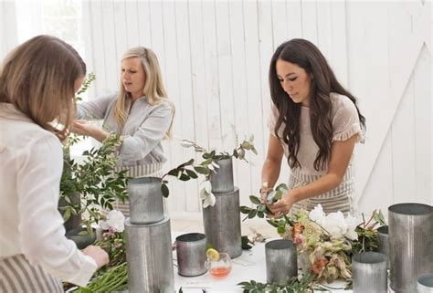 joanna gaines s flower arranging tips popsugar home australia