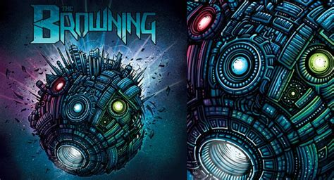 dazzling artworks by dan mumford pixel77
