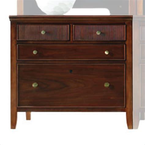 espresso file cabinet wood stanley furniture hudson street bachelors chest in dark