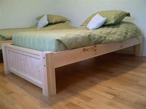 building a platform bed with storage Quick Woodworking