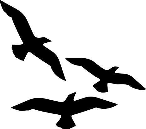 Flying Bird Template  Clipart Best