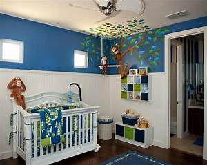 Inspired monday baby boy nursery ideas classy clutter for Baby boy nurseries ideas