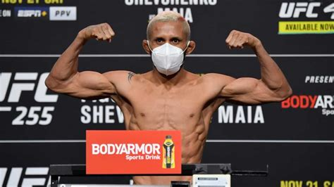 UFC 255 weigh-in results - 2 title fights official, 1 ...