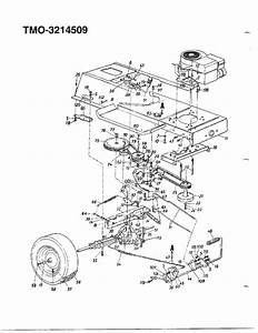34 Mtd Yard Machine Drive Belt Diagram