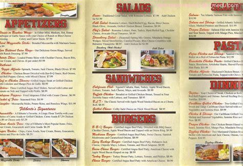 menu cuisine az menu of filiberto 39 s sports grill restaurant buckeye arizona 85326 zmenu