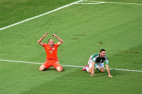 Mexico Suffers Bitter World Cup Loss Netherlands Nbc News