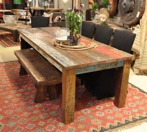 farmhouse kitchen faucets vintage multicolor 107 quot dining table rustic dining