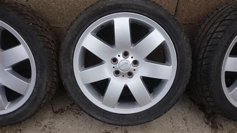 Range Rover P38 Alloy Wheels With Tyres In Newport