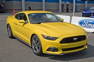 2015 Ford Mustang EcoBoost Turbo 2.3L I4 305 HP / 300 LB-FT