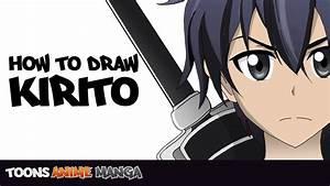 How To Draw Kirito Sword Art Online